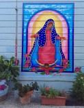 """""""La Virgencita"""" by Patricia Rose in Balmy Alley. San francisco, CA, May 2016"""