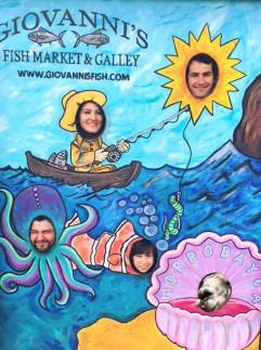Giovanni's Fish Market in Morro Bay + Floyd.