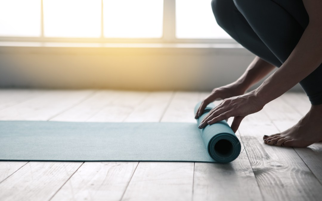 A few things to consider when starting a home yoga practice