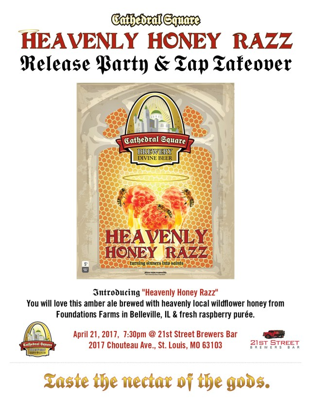 CSB Honey Razz 21st Street Release Flyer