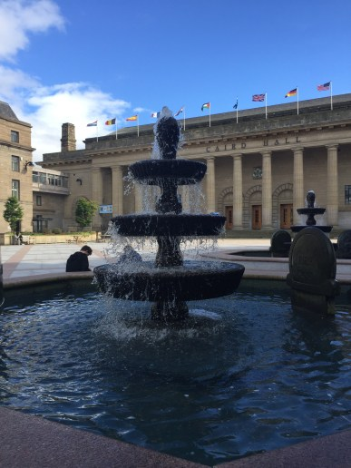 Water Fountain at Caird Hall