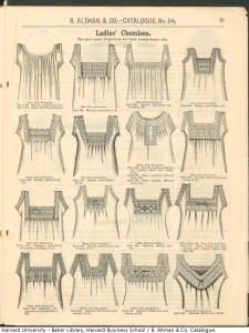 Catalogue chemise