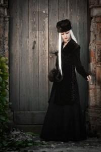 Robe fourure