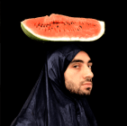 Autoportrait à la Pastèque