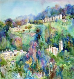 Lyncombe view, commission