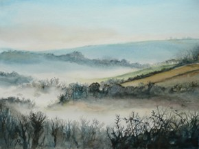 Somerset mists -giclee print available