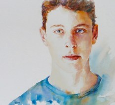 Youth - watercolour 2016