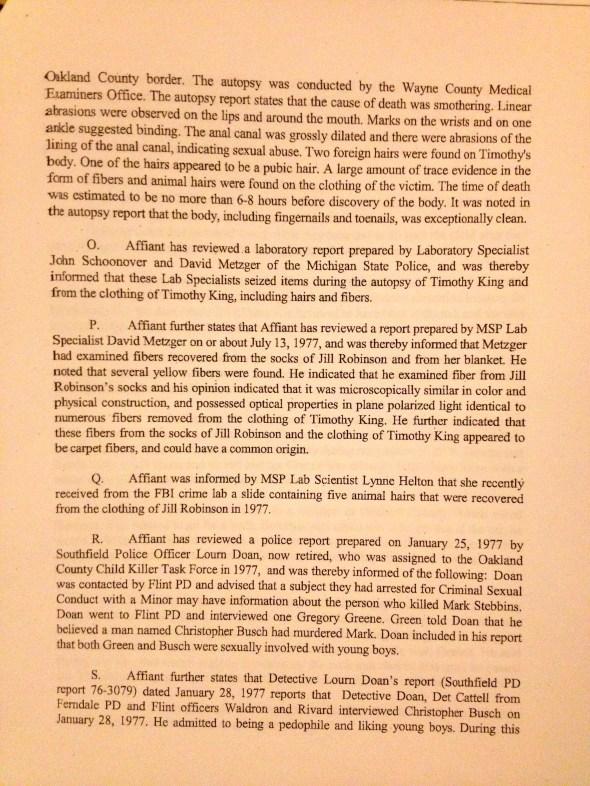 Search Warrant, p. 4 of 8