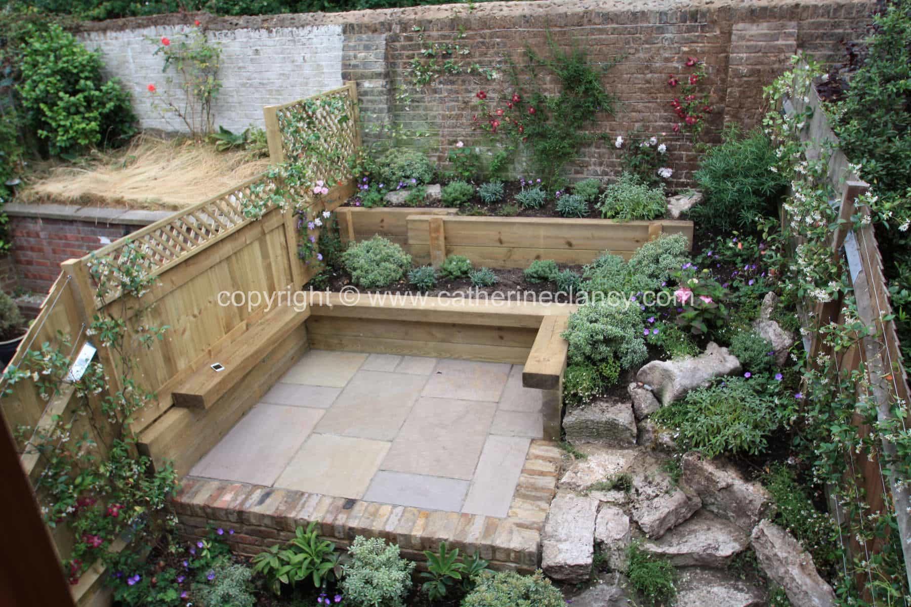 Greenwich Terraced Garden 7