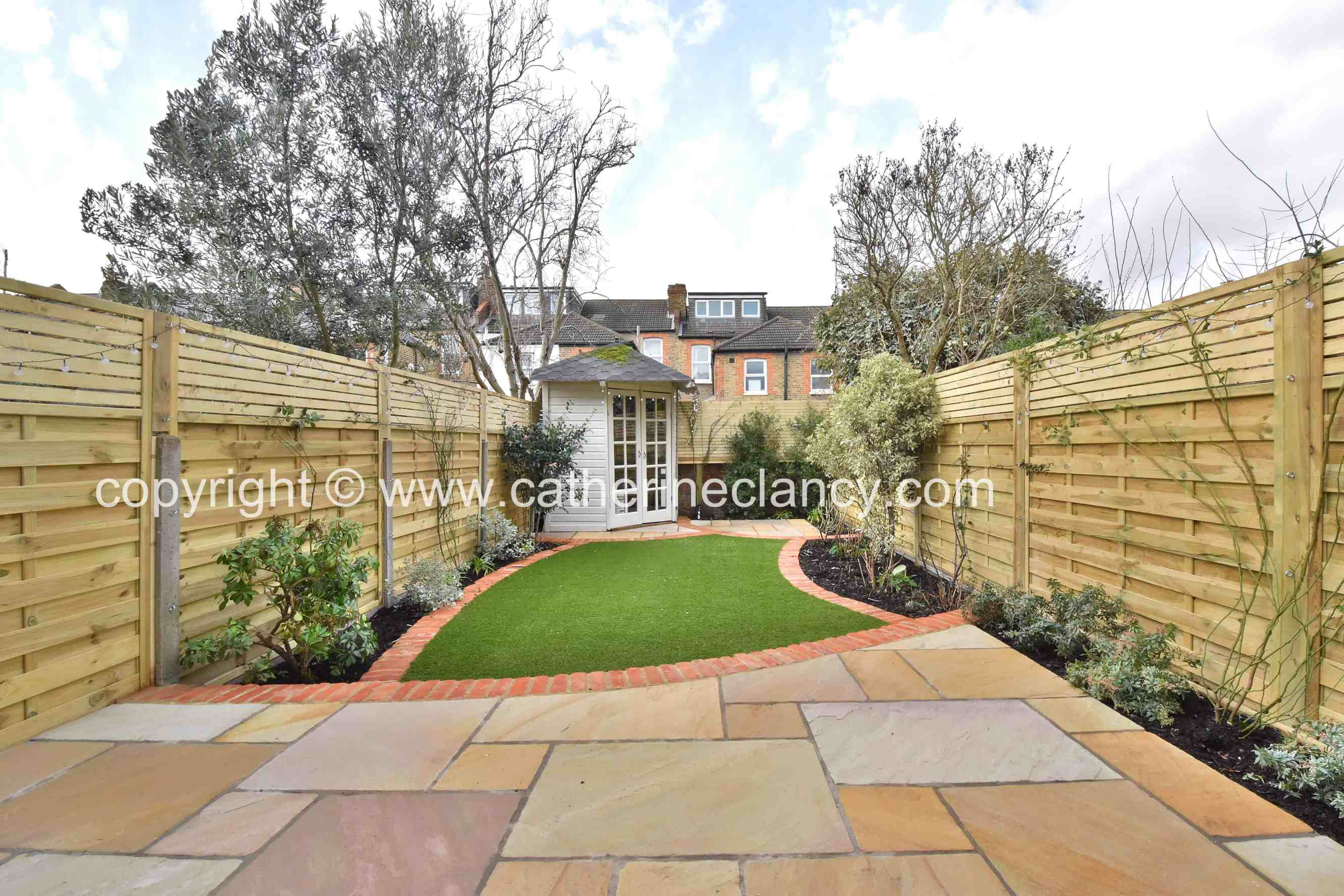 brockley garden just completed