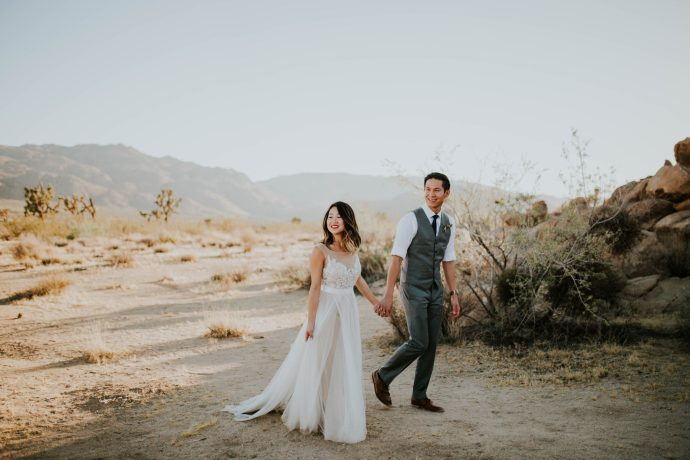 Mandy & Joey Joshua Tree Elopement California Wedding Photographer-112
