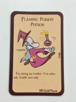 Flaming Poison Potion