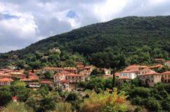 Catherine Faherty's father's village Andritsaina, Greece