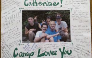 Catherine Faherty at Autism Camp