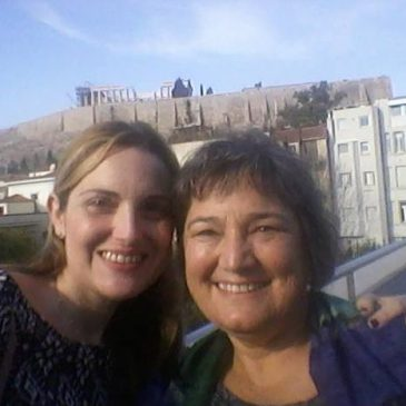 Catherine Faherty Catherine Faherty with Greek autism professional