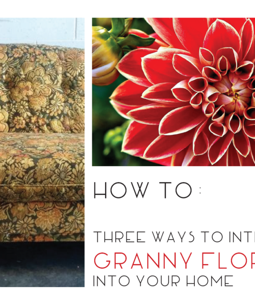 How to use Bold Floral Patterns