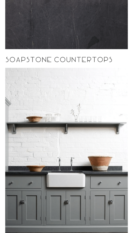Inspirations for Using Soapstone in the Kitchen