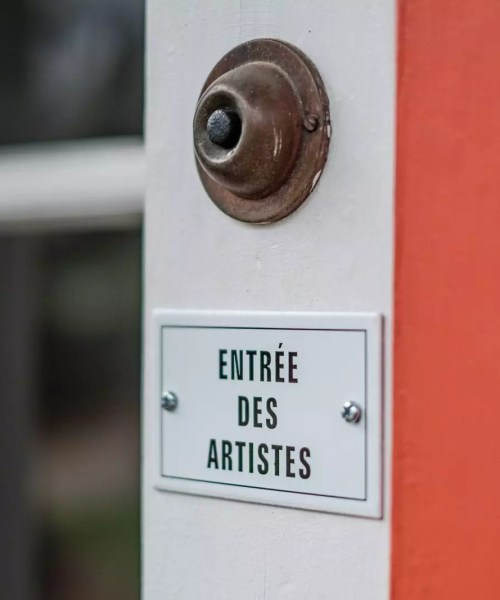 Home First Impression - French Door Bell Sign