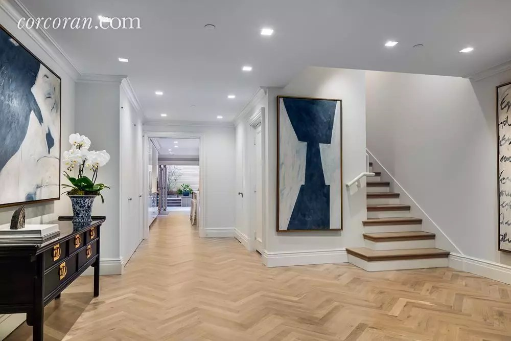 Herringbone Entry Way