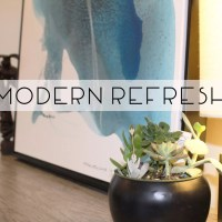 Modern Refresh {Before and After}