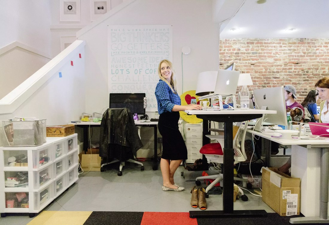 Sit to Stand Desk