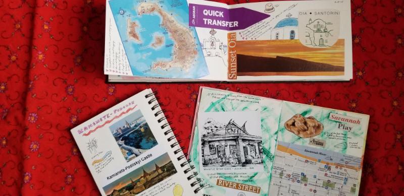 Travel Journal Horiz