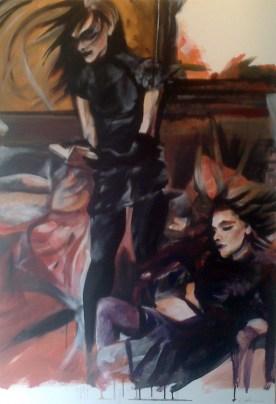 1000mm x 1500mm Acrylic on Canvas 2012