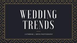 Newest Wedding Trends 2018
