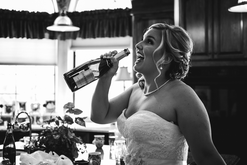 bird drinking champagne funny {virginia beach wedding couples family newborn photographer}