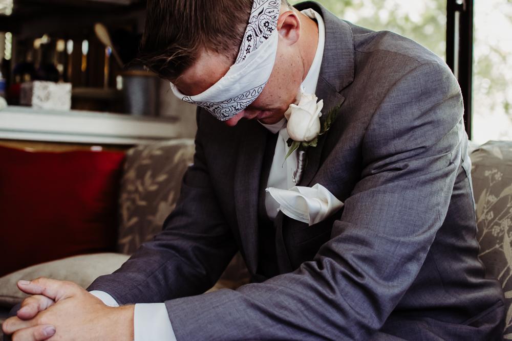 groom before first look {virginia beach wedding couples family newborn photographer}