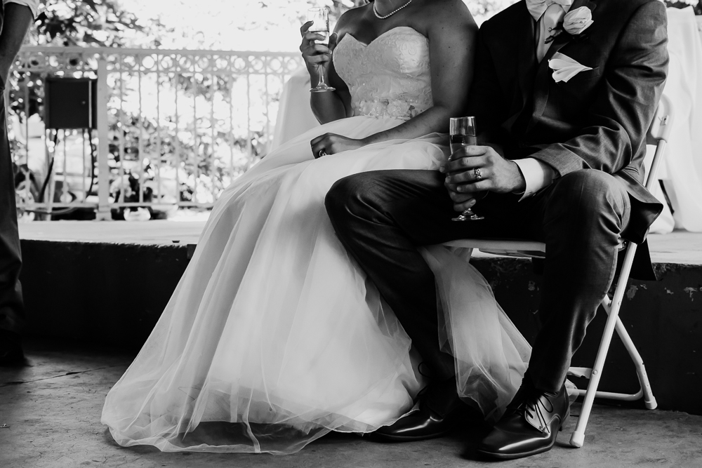 bride groom toasts champagne {virginia beach wedding couples family newborn photographer}