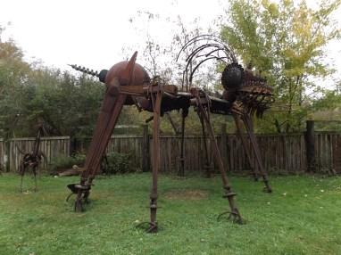 Dr. Evermor sculpture garden