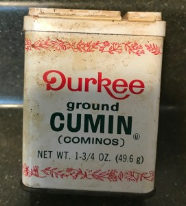 Old Durkee Ground Cumin Tin