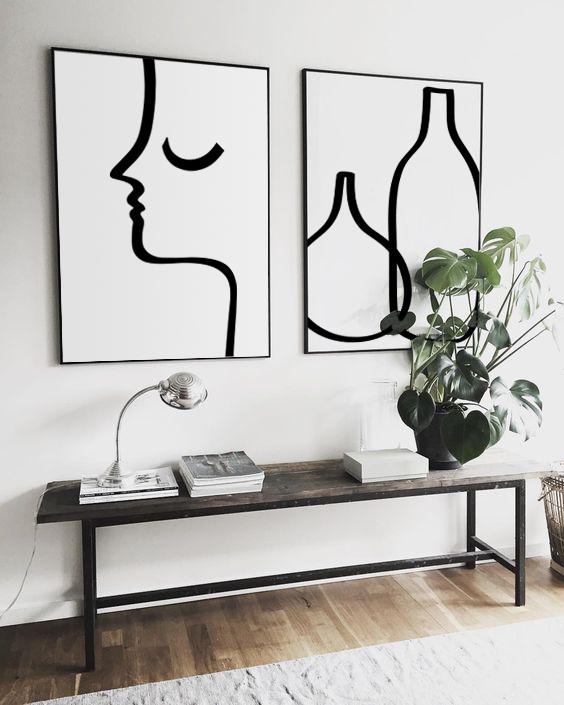#illustration #catherinelavoie #catherinelavoieillustration #catlavoieillustration #design #minimalist #homedecor #illustration #art #print