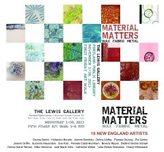 Material Matters: Wax | Fabric | Metal