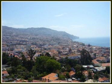 Funchal, the capital of Madeira, an autonomous region of Portugal