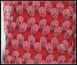 Chosen fabric for our 'uniform'