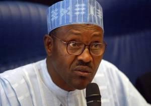 Major General , now President-elect Muhamadu Buhari