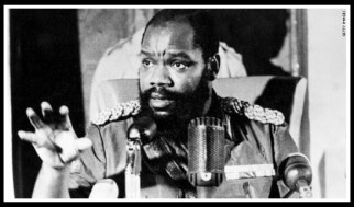 Head of Biafra Ojukwu