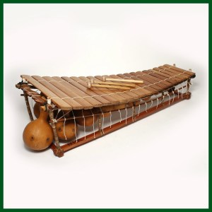 A West African balafon
