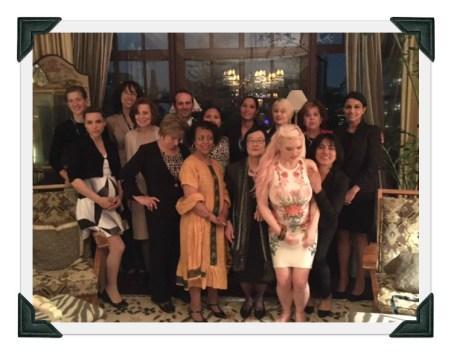 UN Women Metro-NY board, private home reception