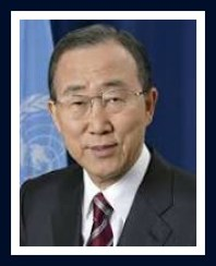 Secretary General Ban Ki-moon