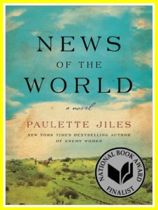 Paulette Jiles' novel about a girl captured by Kiowa Indians
