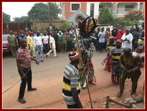 The scariest masquerade is Agaba.