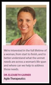 Dr. Elizabeth Garner, photo from article in PharmaVoice.com