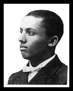 """Carter G. Woodson, from Wikipedia, """"father of Black History"""""""