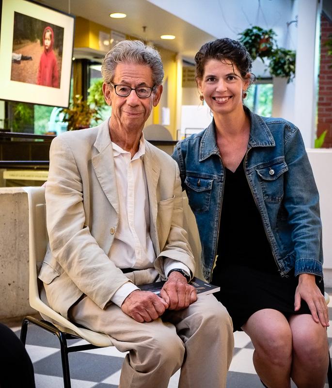 Les photographes Gabor Szilasi et Catherine Rondeau.