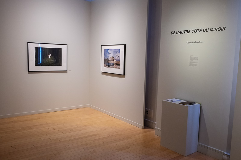Exposition de la photographe Catherine Rondeau à la maison de la culture Maisonneuve à Montréal.