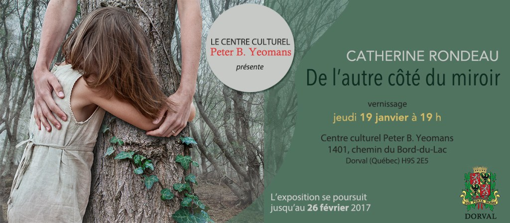 Invitation vernissage exposition Catherine Rondeau
