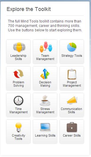 Mind Tools - Management Training, Leadership Training and Career Training